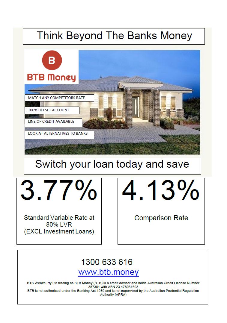 BTB Money Interest Flyer